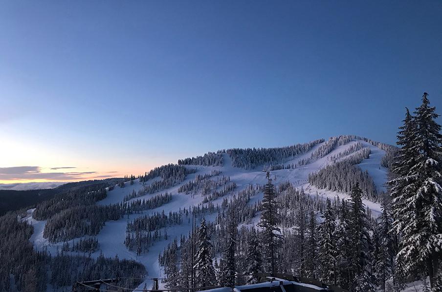 Kellogg Peak at Sunrise